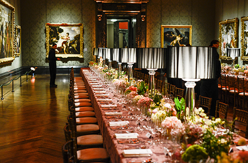 National Gallery dinner in the Wohl Room
