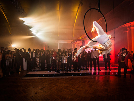 'Greatest Showman' party at Royal Horticultural Halls